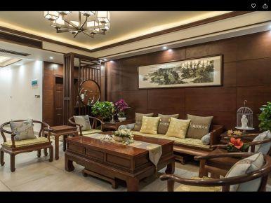 重庆中式风格四居室装修案例