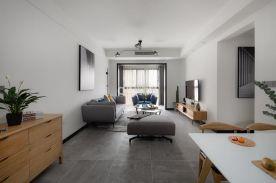 重慶奧園越時代3房現代風格裝修設計案例作品
