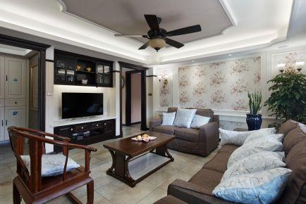 邦泰國際社區古典中式風兩居室裝修