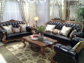 美式風格三居室裝修,端莊典雅的高品質生活!