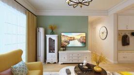 溫馨簡約三居室裝修案例