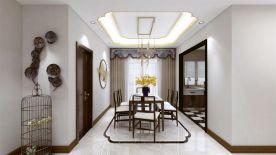 大氣雅致中式風格三居室裝修案例