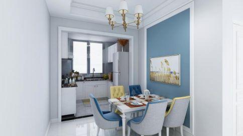 現代簡約三居室裝修案例5