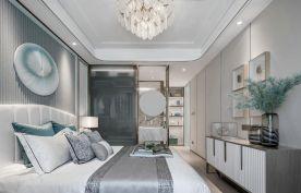 現代輕奢三居室裝修案例效果圖