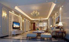 福州歐式風格三居室裝修