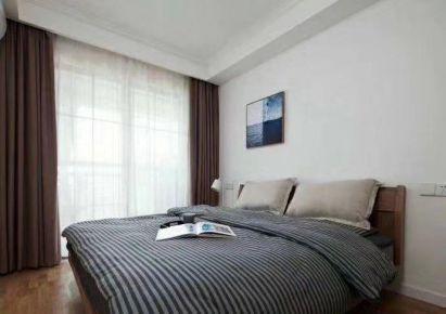 石家莊紫蘋果裝飾保利拉菲100平三室兩廳現代簡約案例圖