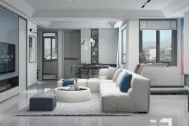 《藍調》現代 110平米舊房改造