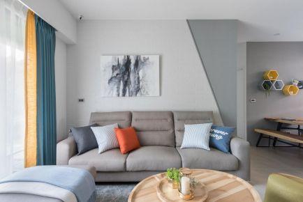 廣州文藝北歐風三居室裝修案例