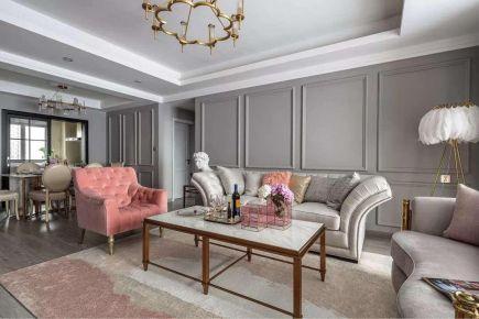 廣州輕奢風格四居室裝修