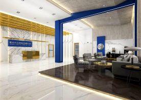 廣州時尚現代輕奢風辦公室裝修