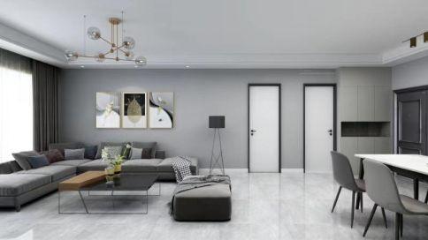 西安138㎡三居室簡約裝修