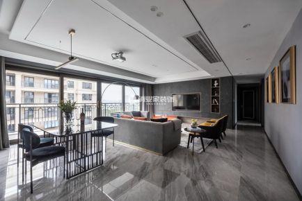 重慶萊蒙香榭4房現代風格裝修設計作品案例
