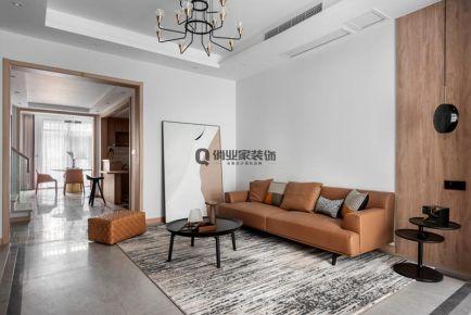 重慶華僑城天瀾美墅別墅現代珥本風格裝修設計案例作品