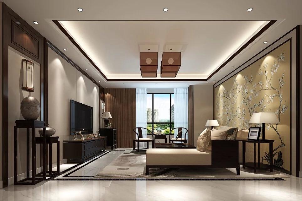 四居室新中式裝修效果圖