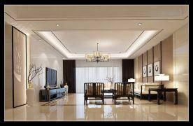 四居室新中式風格效果圖