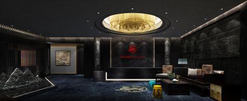 新中式金融會所,打造高端辦公場所