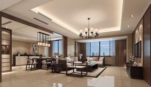 现代四居室装修效果图