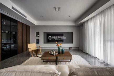 重慶保利豪園4房現代風格裝修設計案例作品