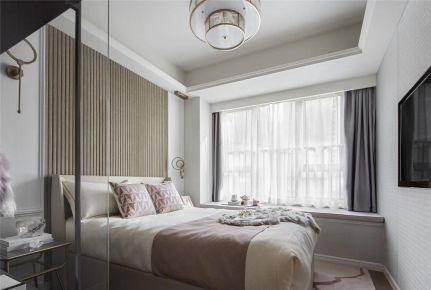 石家莊紫蘋果裝飾赫石府100平三室兩廳北歐案例圖