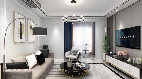 龙泉悦龙山现代风格四居室,宽敞大气