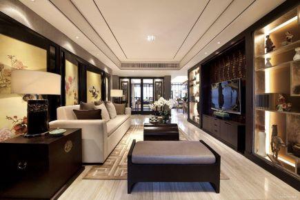 典雅新中式风格四居装修案例