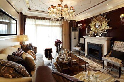 欧式风格三居室装修,精致典雅