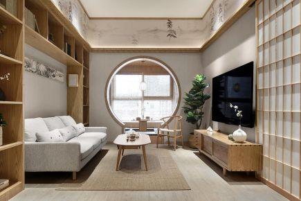 日式原木风别墅装修案例