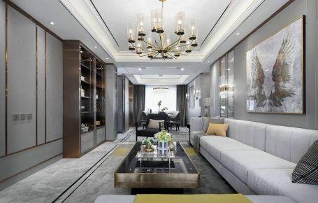灰色+金色的轻奢风,打造不一样的美感。