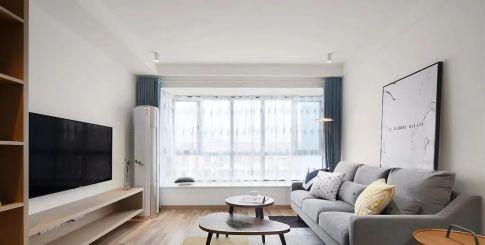 102㎡舒适北欧风格装修,简单清新舒适生活!