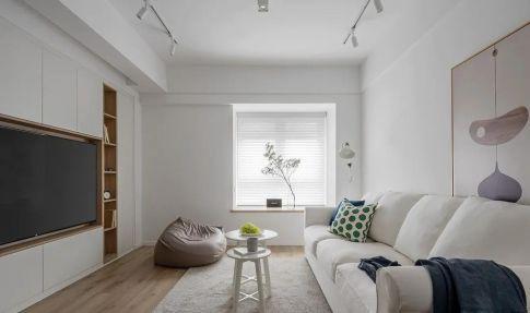 60㎡舒适北欧风格新房装修,餐厨区太棒了!