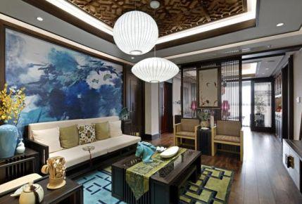 水墨禅意,浓浓的中式装修风格,雅韵别致!