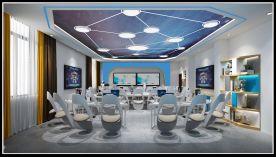 河南商务学校教室装修设计