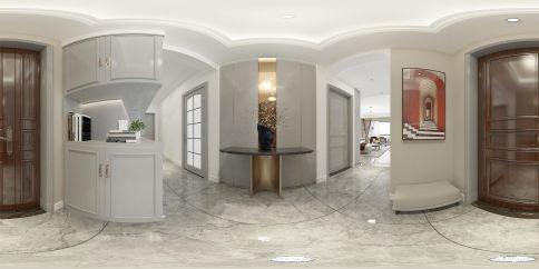 滨水家园轻奢美式风格三居室装修