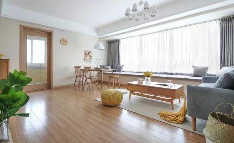 92㎡北欧风三居室装修效果图,实用又美观!