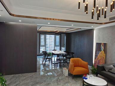 郑州现代风装修,黑白灰的极简风格,装出高级范