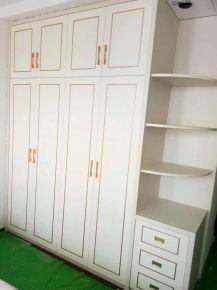 白色简约三室两厅装修设计