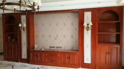 古典中式风格三室两厅装修效果图展示
