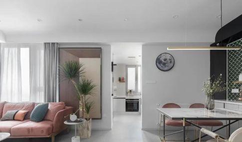 118㎡现代简约风格新房装修,走廊过道超惊艳!
