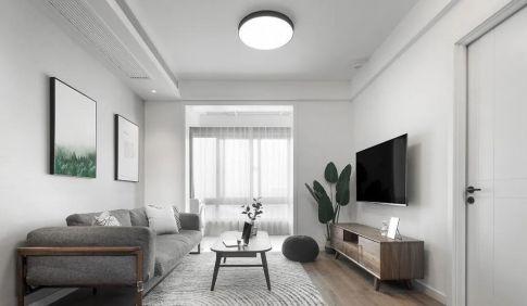 133㎡舒适北欧风格新房装修,胡桃木软装太有质感!