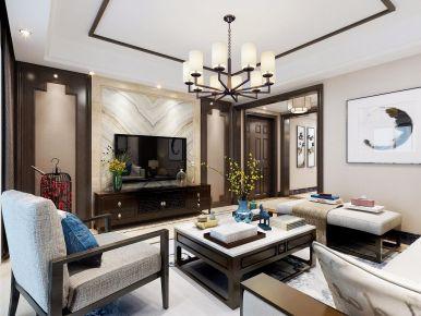 福州古典雅致新中式风格三居室装修
