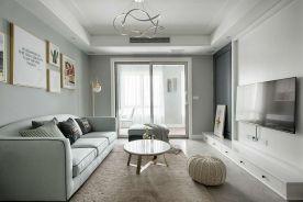 现代风两室一厅,简约大气
