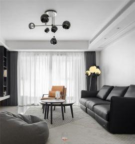 160㎡现代风格新房装修,时尚干练格调满满!