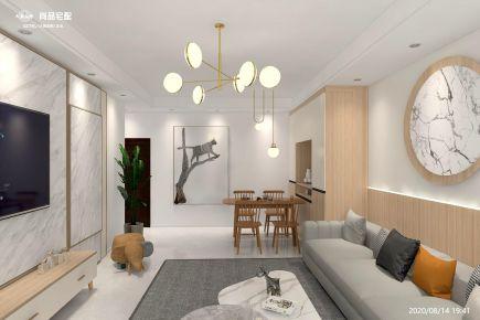 现代风三居室装修,演绎浪漫精致的都市情怀