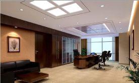 福州大气简约办公室装修案例
