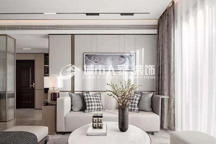 中海会展九里 120㎡ 现代风格 无主灯设计