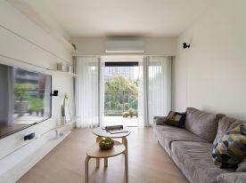 原木简约风新房装修,通透的空间设计,营造出温馨的氛围