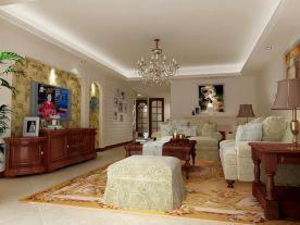 美式风格设计,优雅与舒适的典范之家!