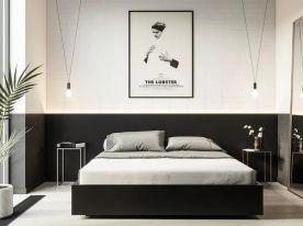 卧室换了一面墙,睡觉更香了!