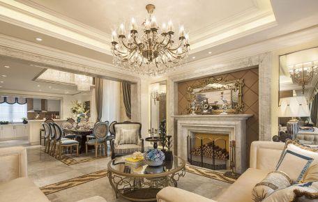浪漫法式风,将别墅的精致与大气演绎得淋漓尽致!