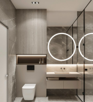 卫生间空间太小杂乱无章,那一定是因为你没做好收纳设计